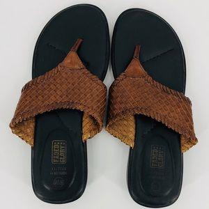 Genuine leather sandals